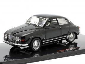 Saab 96 V4 year 1969 black 1:43 Ixo