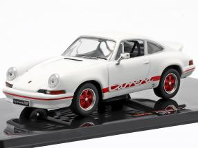 Porsche 911 Carrera RS 2.7 year 1973 white / red 1:43 Ixo