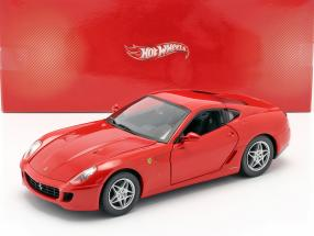 Ferrari 599 GTB Fiorano year 2006 red 1:18 HotWheels