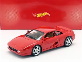 Ferrari F355 Berlinetta Year of construction 1994 red 1:18 HotWheels