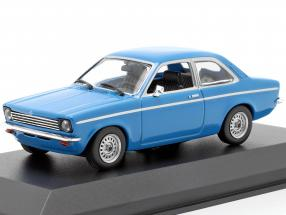 Opel Kadett C Year 1974 blue 1:43 Minichamps
