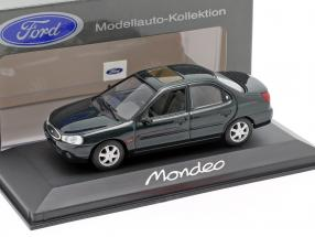 Ford Mondeo Limousine Year 1996 dark green metallic 1:43 Minichamps