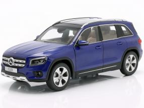 Mercedes-Benz GLB (X247) year 2019 galaxy blue 1:18 Z-Models