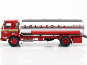 Pegaso 1065 L Europa Solazo Tanker year 1969 red / silver