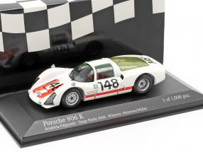 Porsche 906 K #148 Winner Targa Florio 1966 Scuderia Filipinetti 1:43 Minichamps