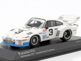 Porsche 935 #3 24h Daytona 1977 Facetti, Finotto, Camathias 1:43 Minichamps