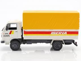 Pegaso Ekus 1210 Truck Iberia year 1986 white / yellow / red