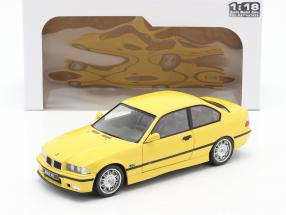 BMW M3 Coupe (E36) year 1994 Dakar yellow 1:18 Solido