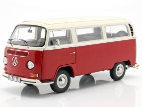 Volkswagen VW T2a bus year 1967 red / white 1:18 Schuco