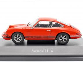 Porsche 911 S Coupe year 1971 orange