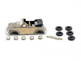 Volkswagen VW Beetle Convertible Construction kit for the little Cabrio mechanic 1:90 Schuco Piccolo