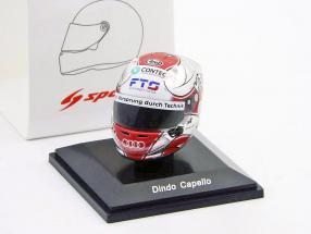 Rinaldo Capello Audi R18 TDI 24h LeMans 2011 Mini helmet 1:8 Spark
