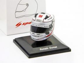 Romain Dumas Audi R18 TDI 24h LeMans 2011 mini helmet 1:8 Spark