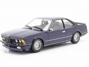 BMW 635 CSi (E24) year 1982 dark blue metallic 1:18 Minichamps