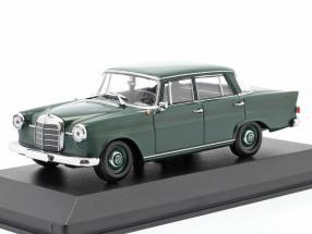 Mercedes-Benz 190 Heckflosse year 1961 dark green 1:43 Minichamps