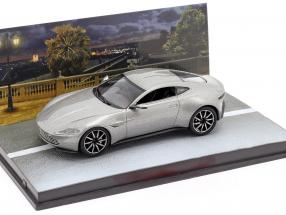 Aston Martin DB10 2014 James Bond Spectre (2015) silver grey metallic 1:43 Altaya