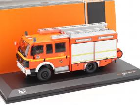 Mercedes-Benz LF 16/12 year 1995 fire Department Hamburg 1:43 Ixo