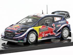 Ford Fiesta WRC #1 5th Rallye Australia 2018 Ogier, Ingrassia 1:43 Ixo