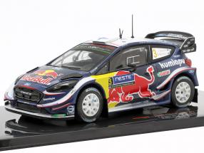 Ford Fiesta WRC #3 6th Rallye Finland 2018 Suninen, Markkula 1:43 Ixo