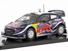 Ford Fiesta WRC #2 7th Rallye Finland 2018 Evans, Barritt 1:43 Ixo