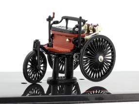 Benz Patent motor car year 1886 black / red-brown 1:43 Ixo