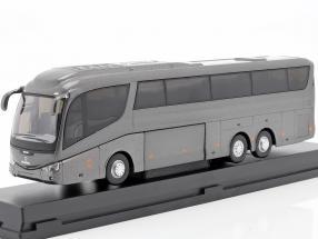 Scania Irizar Pb bus grey metallic 1:50 Cararama