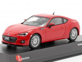 Subaru BRZ STi tS year 2013 red 1:43 Kyosho JCollection