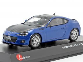 Subaru BRZ STi Tokyo Auto Salon 2012 blue metallic 1:43 Kyosho JCollection