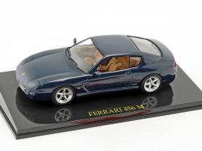 Ferrari 456 M blue metallic With Showcase 1:43 Altaya / 2nd choice