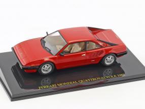Ferrari Mondial Quattrovalvole Construction year 1982 red With Showcase 1:43 Altaya / 2. choice