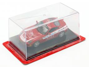 Ferrari 599 GTB Fiorano Panamerican Tour red With Showcase 1:43 Altaya / 2. choice