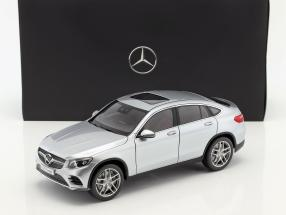 Mercedes-Benz GLC Coupe (C253) Construction year 2016 diamond silver 1:18 iScale / 2nd choice