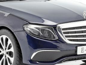 Mercedes-Benz E-Klasse S213 T-Modell cavansit blue 1:18 iScale / 2nd choice