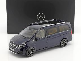 Mercedes-Benz V-Klasse Construction year 2017 cavansit blue metallic 1:18 Norev / 2nd choice