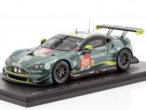 Aston Martin Vantage GTE #98 24h LeMans 2019 Dalla Lana, Lauda, Lamy 1:43 Spark