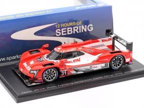 Cadillac DPi-V.R #31 Winner 12h Sebring 2019 Delani, Curran, Nasr 1:43 Spark