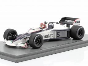 Nelson Piquet Brabham BT52 #5 2nd Monaco GP World Champion F1 1983 1:43 Spark
