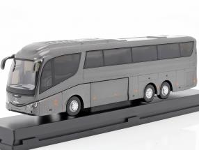 Scania Irizar Pb bus grey metallic 1:50 Cararama