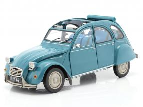 Citroen 2CV 6 Club year 1982 laguna blue 1:18 Norev