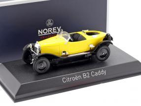 Citroen B2 Caddy year 1923 yellow 1:43 Norev