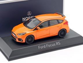 Ford Focus RS year 2016 orange metallic 1:43 Norev