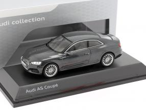 Audi A5 Coupe Manhattan gray 1:43 Spark