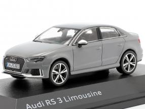 Audi RS 3 Limousine gray 1:43 iScale