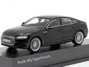 Audi A5 Sportback year 2017 mythos black 1:43 Spark