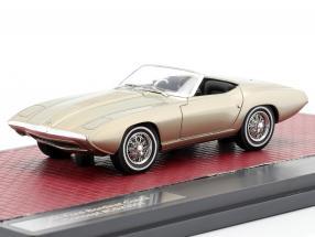 Ford XP Bordinat Cobra Concept Car 1965 silver metallic 1:43 Matrix