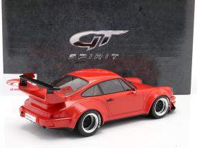 Porsche 911 (964) RWB Coupe Rauh-Welt 1990 red 1:12 GT-Spirit