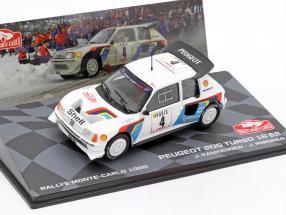 Peugeot 205 Turbo 16 E2 #4 5th Rallye Monte Carlo 1986 Kankkunen, Piironen 1:43 Altaya