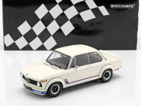 BMW 2002 Turbo (E20) year 1973 white 1:18 Minichamps