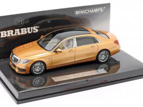 Maybach Brabus 900 based on Mercedes-Benz Maybach S600 2016 gold 1:43 Minichamps