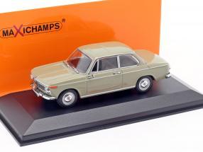 BMW 1600 year 1968 Nevada beige 1:43 Minichamps